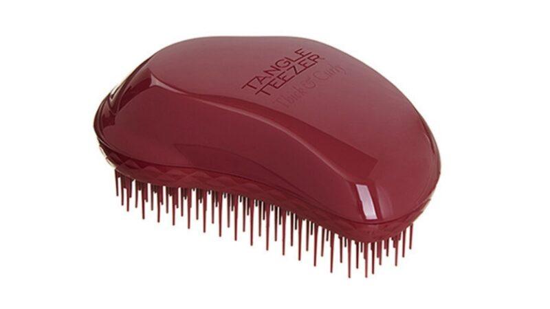szczotka tangle teezer dla kręconych włosów, czy tangle teezer jest bezpieczny dla wlosow