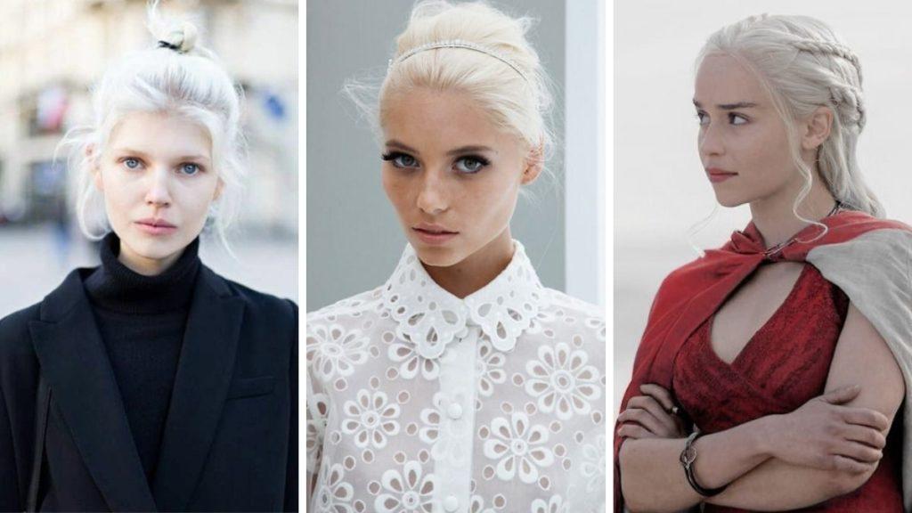 nordic white hair, arktyczna biel, trendy 2019