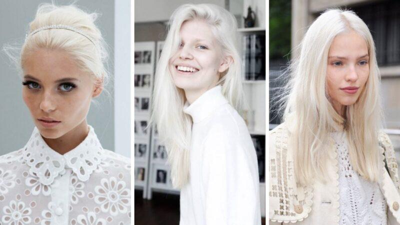 nordic white, platynowe włosy, białe włosy