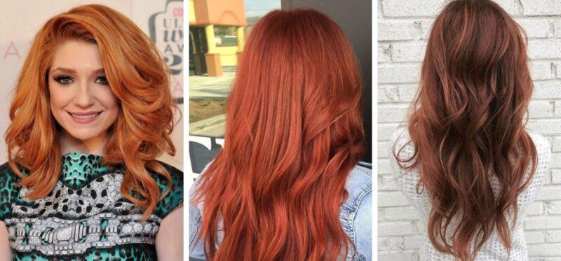 tycjan kolor włosów, rude włosy, marchewkowe włosy, kasztanowe włosy