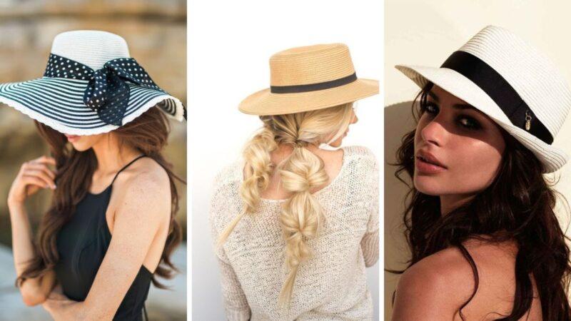 kapelusze na lato, kapelusze fryzury, jak nosić kpelusz, komu pasuje kapelusz