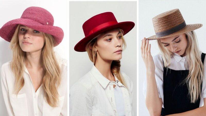kolorowe kapelusze, kapelusz damski, jak nosić kapelusz, jak dobrać kapelusz do twarzy