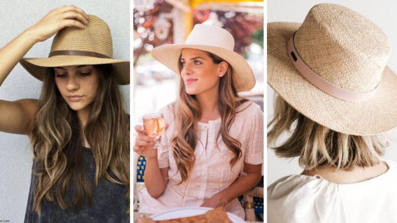 damskie kapelusze, kobiece kapelusze, dziewczęce kapelusze