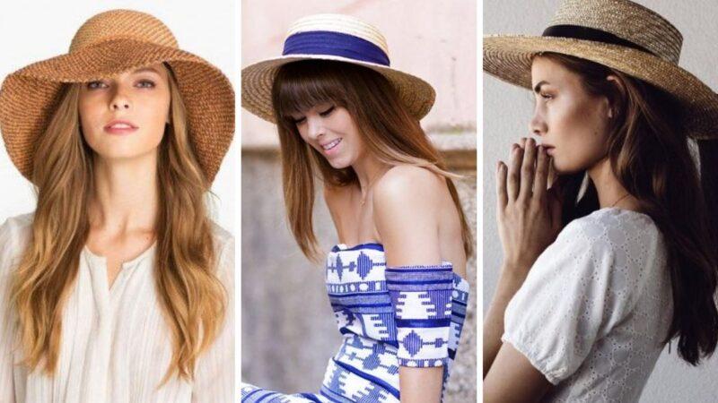 kapelusz na wakacje, kapelusz na lato, letni kapelusz, komu pasuje kapelusz