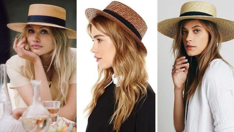 kapelusz z dużym rondem, kapelusz z małym ronde, kapelusz wenecki, kapelusz śłomkowy