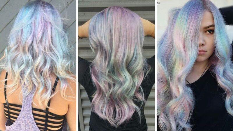 kolorowe włosy, pastelowe włosy, jaki kolor na wiosnę