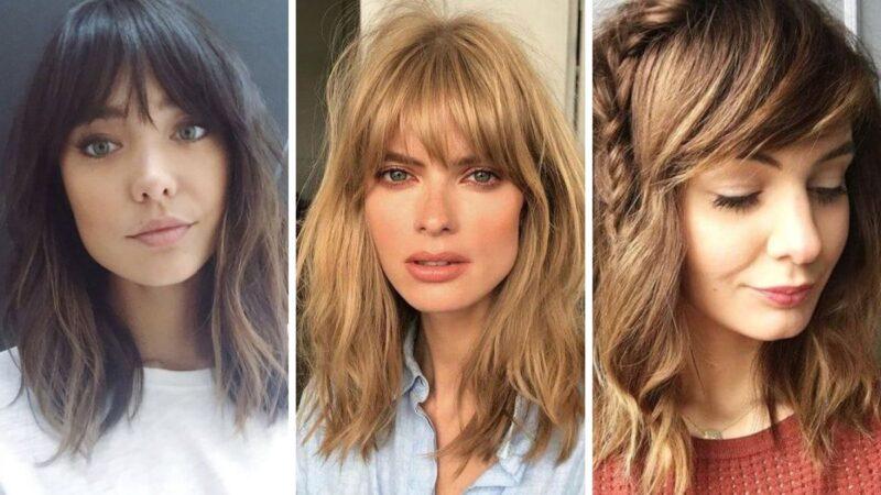 cienkie wlosy fryzury, fryzury dodające objętości, modne fryzury