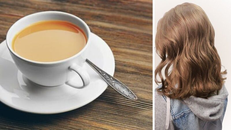koloryzacja 2019, milk tea hair