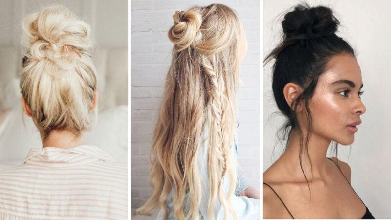 ciekawe fryzur damskie, fryzury kobiece