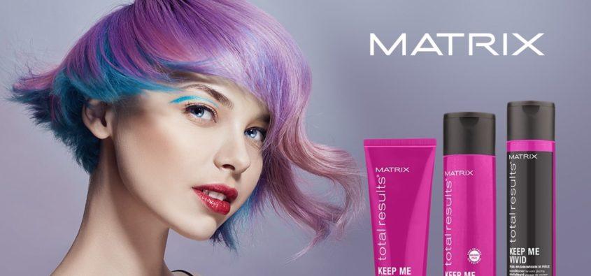 matrix keep me vivid, pielęgnacja włosów farbowanych, jak zatrzymać kolor na dłużej