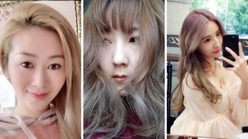 włosy w kolorze mlecznej herbaty, trendy instagram, trendy z azji