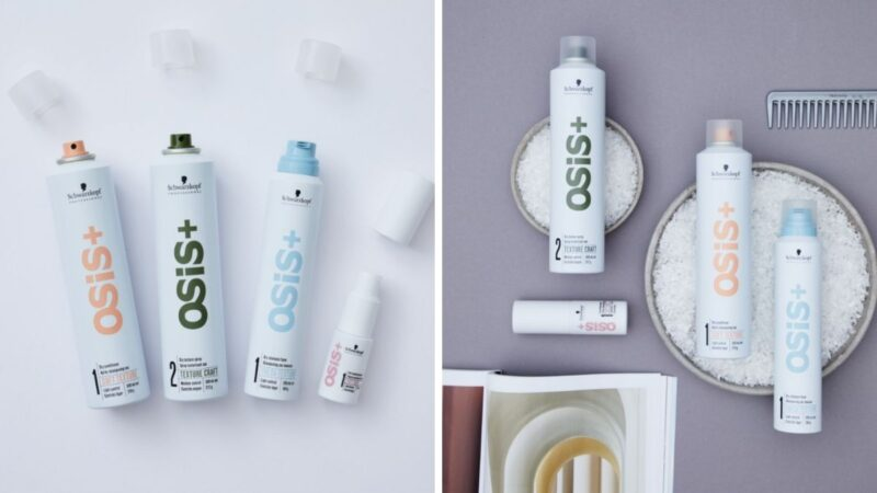 schwarzkopf osis+ texture, stylizacja długich włosów, osis+ texture, suchy szampon osis,