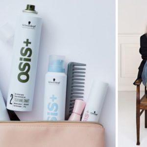 schwarzkopf osis+ nowość, nowe kosmetyki osis, nowe kosmetyki schwarzkopf, stylizacja długich włosów