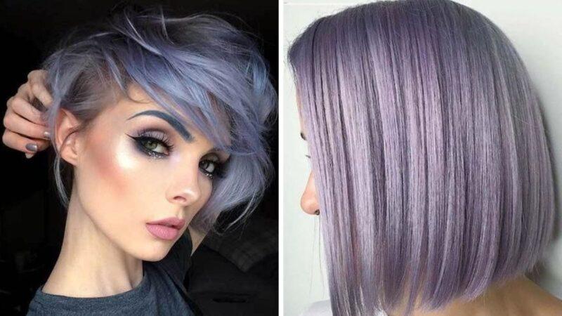 krótkie włosy koloryzacja, krótkie włosy fryzury