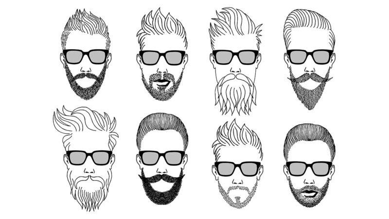 rodzaje brody, rodzaje zarostu, kształt brody, kształt zarostu