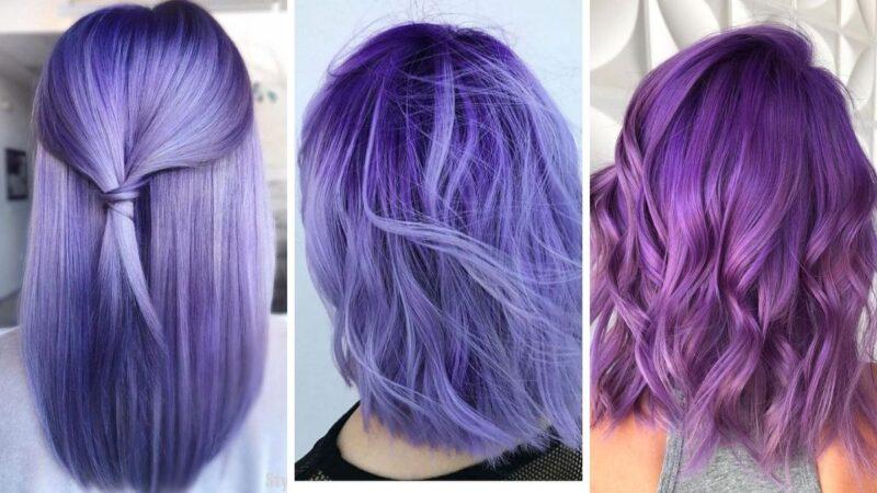 fioletowe włosy, różowe włosy, kolorowe włosy
