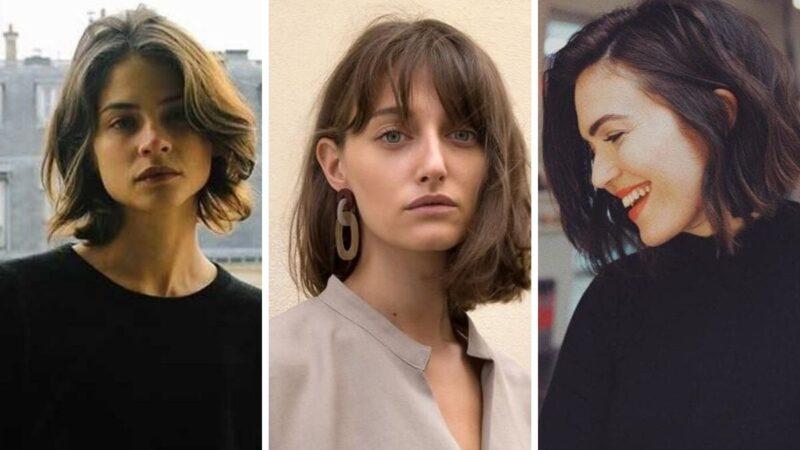 francuski bob, krótki bob, fryzury dla krótkich włosów