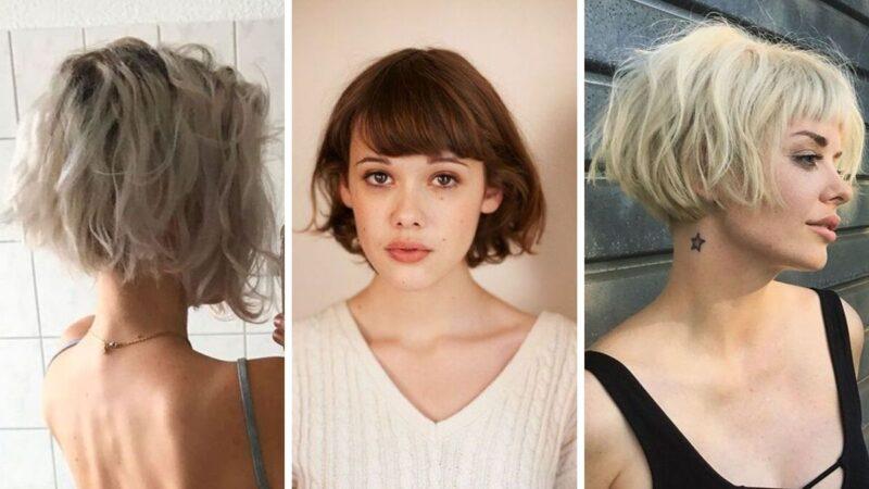 fryzury na krótkie włosy, fryzury z krótkich włosów, blond włosy