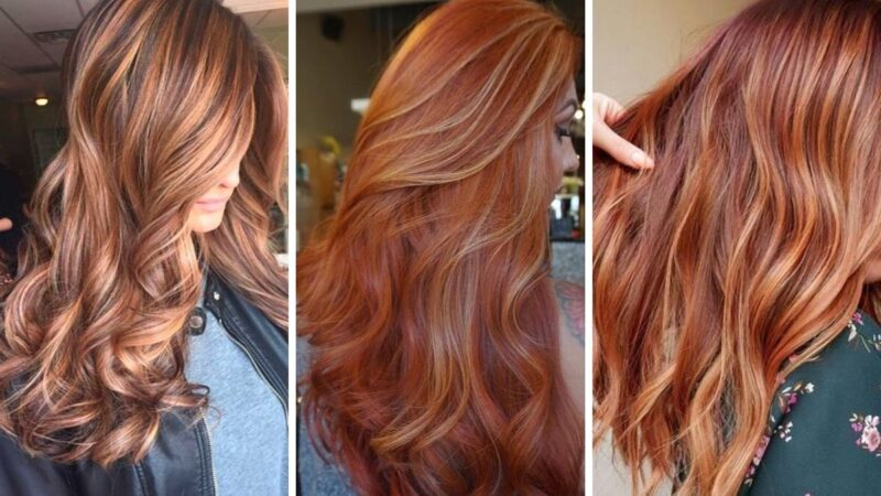 piękne rude wlosy, rudy kolor, włosy w kolorze piwa imbirowego