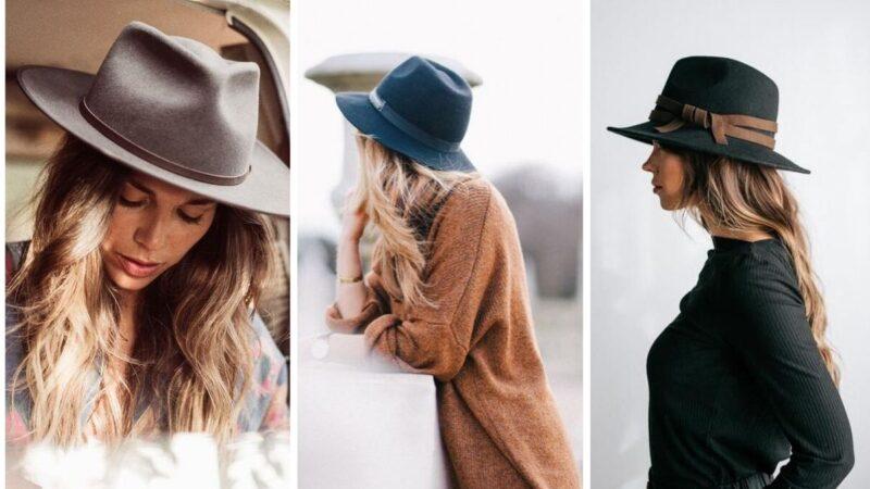 fedora kobieca, fedora damski, kapelusze na jesień
