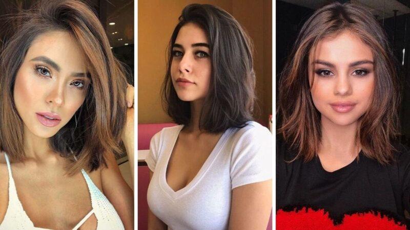 naturalny lob, lob au naturel, naturalna fryzura, naturalne włosy do ramion