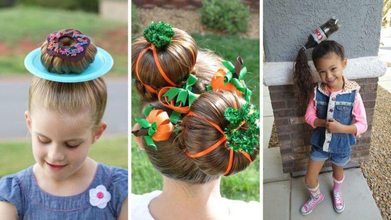 pomysły na fryzury na halloween, fryzury na halloween dla dzieci, fryzury dla chłopców, fryzury dla dziewczynek
