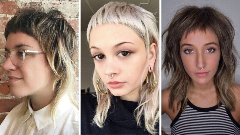 mulled hair, asymetryczna fryzura, asymetryczne cięcie, fryzury damskie