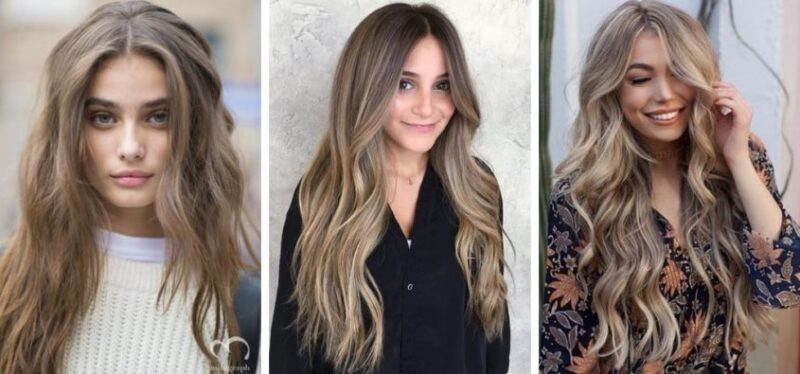 dark blonde, ciemny blond, beżowy blond, trendy 2019