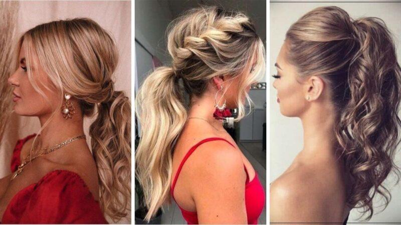 fryzury na sylwestra 2020, sylwester 2020, fryzury długie włosy