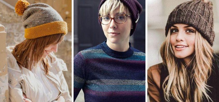 fryzury na zimę, fryzury do czapki, jakie fryzury nosić pod czapkę, jak dbać o włosy zimą