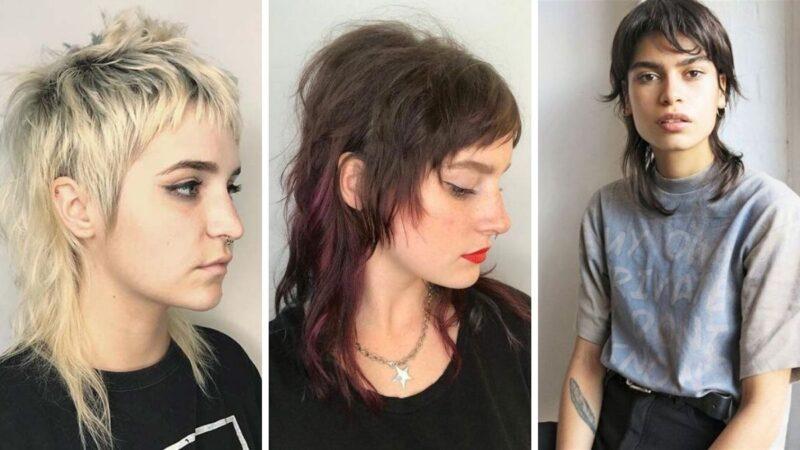 mulled hair, trendy 2019, modna fryzura damska, cieniowane włosy, shaggy hair
