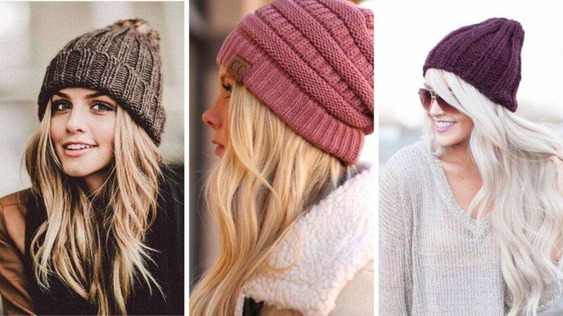 fryzury długie włosy na zimę