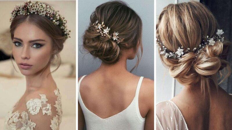 ślub w zimę fryzury, fryzury na ślub galeria, fryzury dla panny młodej galeria