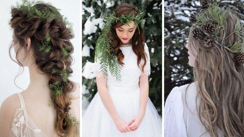 wesele w zimę, zimowe wesele, jak uczesać się na zimowe wesele