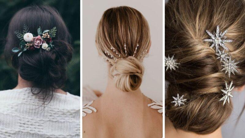 koki na wesele, pomysły na uczesanie na wesele, zimowe wesele