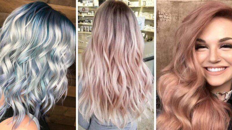 kolorowe włosy, włosy z poświatą, tonowanie włosów w domu