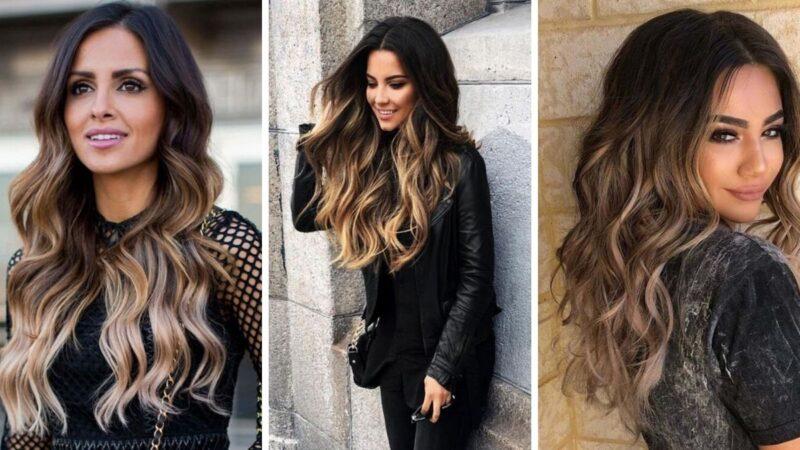 lokowane włosy, kręcone włosy