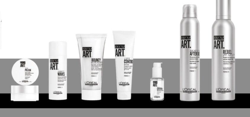 loreal tecni art, kosmetyki do stylizacji loreal