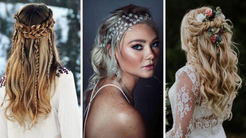 fryzury dla panny młodej, fryzury ślubne galeria