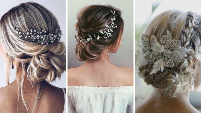 fryzury na zimowe wesele, fryzury na ślub, fryzury ślubne