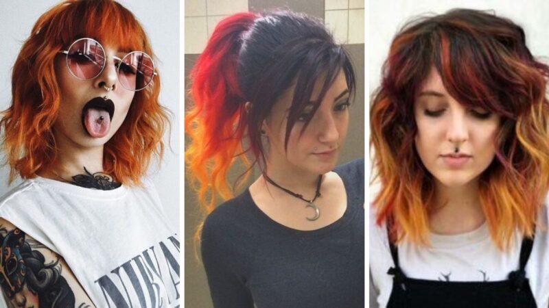 hot cheetos hair, ogniste włosy, mocne włosy