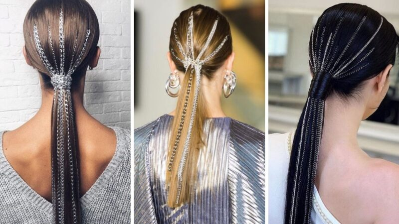 fryzury glamour, damskie fryzury, fryzury na bal