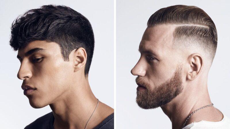 stylizacja męskich włosów