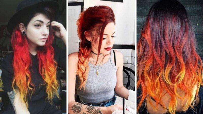 czerwone włosy, ogniste włosy