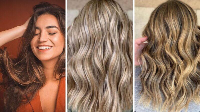 tweed hair, balayage, balejaż, włosy 2020, trendy 2020