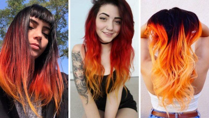 ciekawy kolor włosów, trendy 2020, trendy 2019