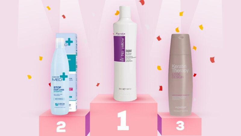 najlepsze szampony 2019, ranking szamponów 2019, top 10 szamponów 2019