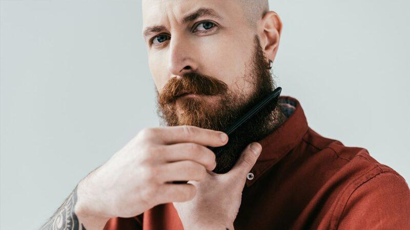 pielęgnacja brody, jak myć brodę