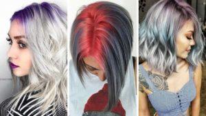 kolorowe wlosy, kolorowe odrosty, rainbow roots, trendy 2020