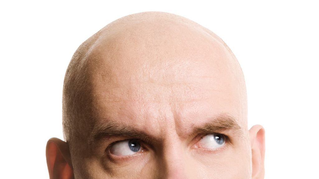 szampon dla łysych, szampon dr bald, pielęgnacja łysej głowy